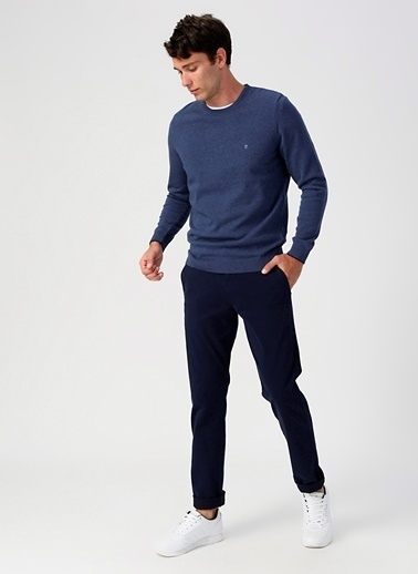 Dockers Dockers Smart 360 Flex Ultimate Chino Slim Pantolon Lacivert